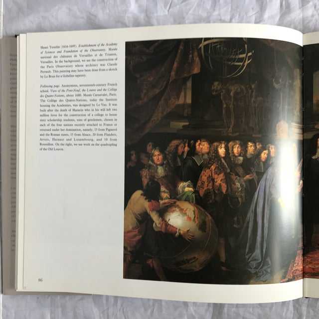 """Paper """"The Grand Louvre"""" First Edition Art Book For Sale - Image 7 of 9"""