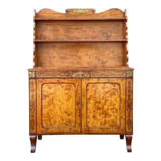 William IV Satinwood Credenza For Sale