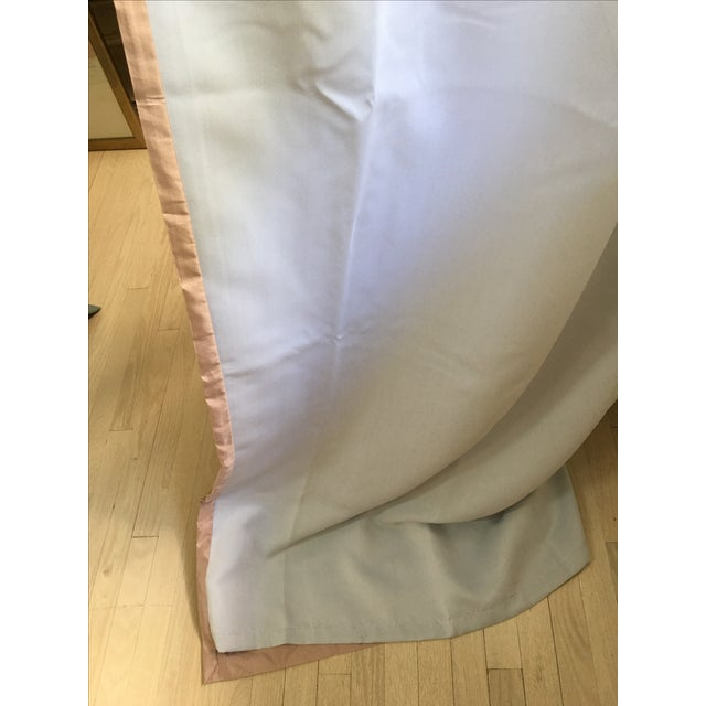 Serena & Lily Silk Shantung Blush Drapes - S/3 For Sale In Los Angeles - Image 6 of 7
