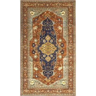 "Zenab, Serapi Area Rug - 10' 2"" X 17' 8"" For Sale"
