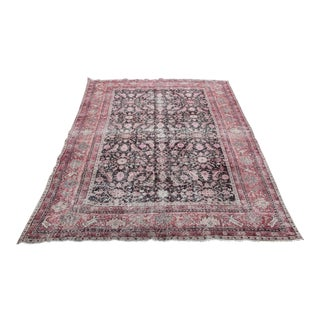 1960s Vintage Turkish Handmade Rug - 5′11″ × 10′ For Sale