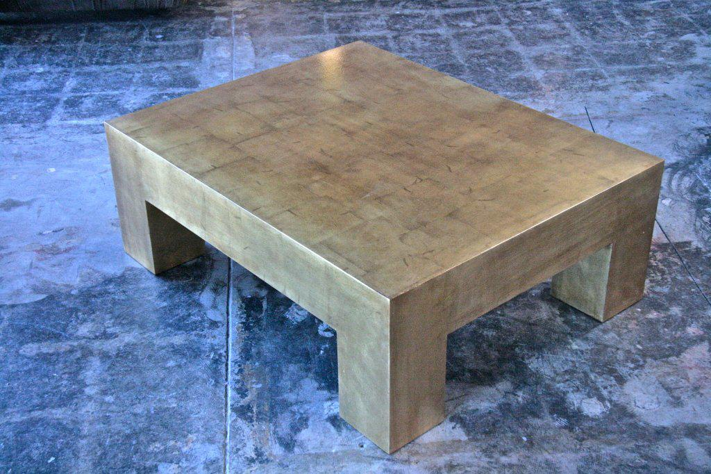 Italian Gold Leaf Coffee Table   Image 2 Of 7
