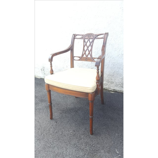 Cane Seat Armchairs - A Pair - Image 3 of 9
