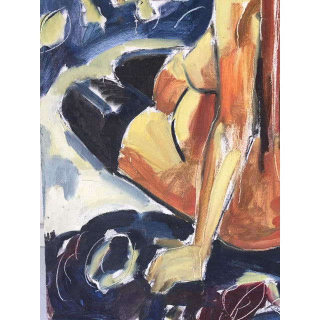 Modernism Nude Woman Abstract Expressionism For Sale - Image 5 of 6