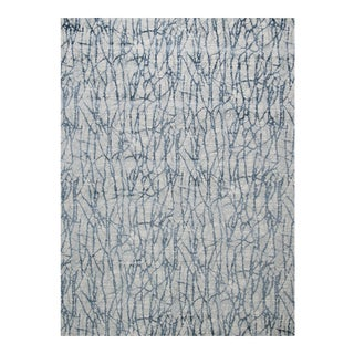 "Stark Studio Rugs Jeeves Rug in Blue, 5'3"" x 7'9"" For Sale"