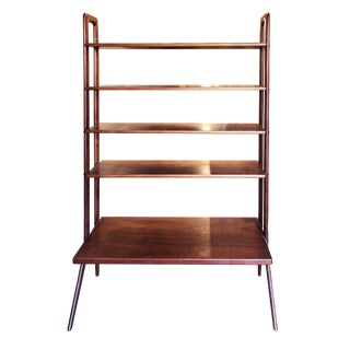 Kurt Ostervig Freestanding Danish Modern Teak Bookshelf For Sale