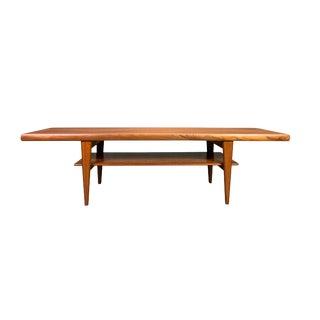 1960s Scandinavian Modern Teak Cocktail Table For Sale