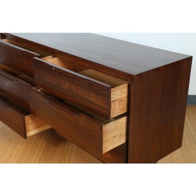 Solid Wood Dresser with Dark Walnut finish - Image 8 of 10