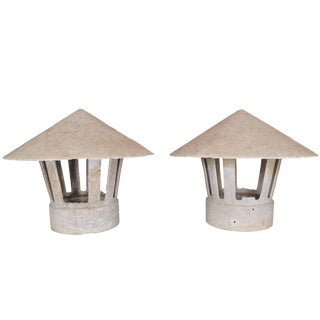 Cast Concrete Lanterns For Sale