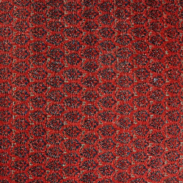 "Mid 19th Century Antique Seraband Carpet - 6' x 13'2"" For Sale - Image 5 of 5"