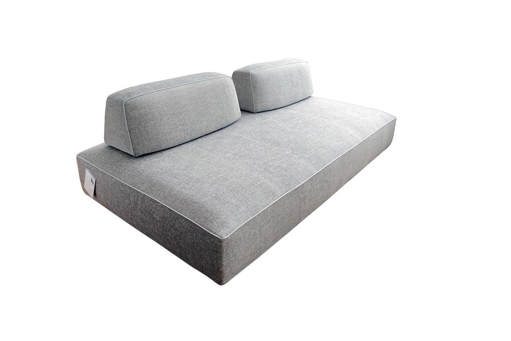 Modern Art Nova Filiph Gray Sofa Chairish