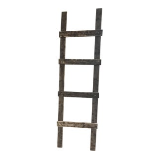 Rustic Farmhouse Wooden Ladder