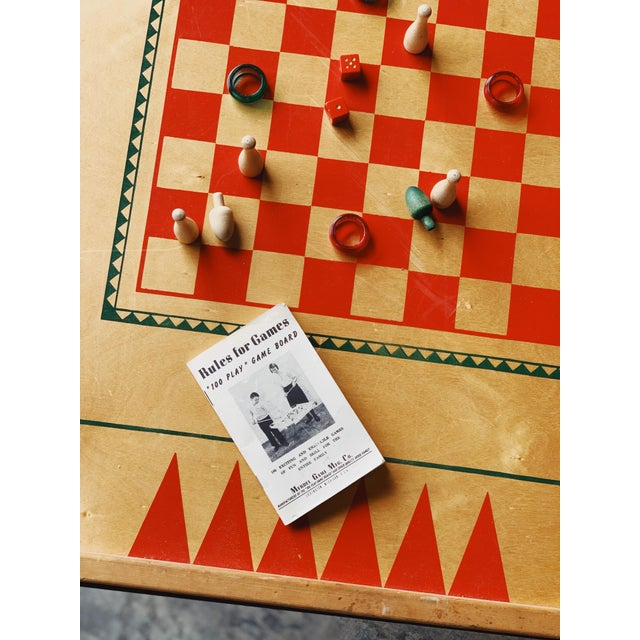 Children's Game Board Coffee Table For Sale - Image 3 of 5