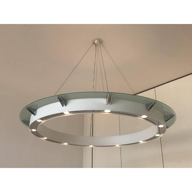 Set of Four Large Modern Chandeliers by Rodust & Sohn, Germany 2000s For Sale - Image 4 of 10