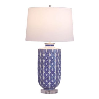 Evelyn Porcelain Table Lamp For Sale