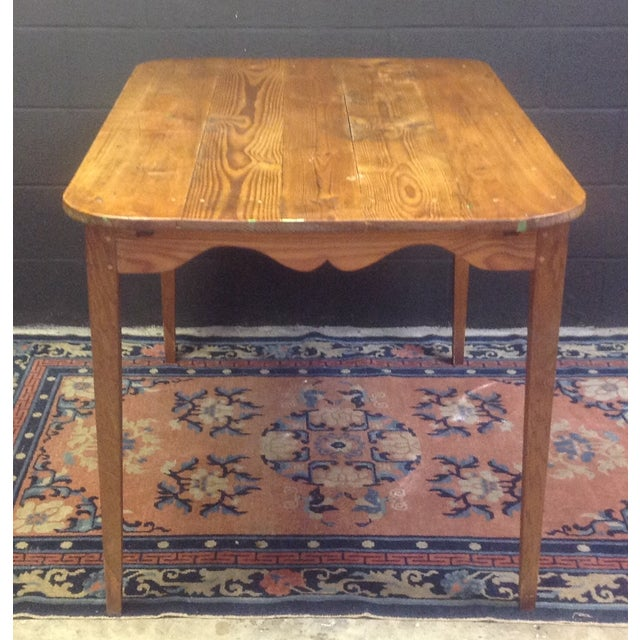 Country Antique French Pine Table For Sale - Image 3 of 7