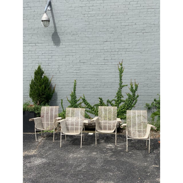 French French Garden Chairs - Set of 4 For Sale - Image 3 of 10