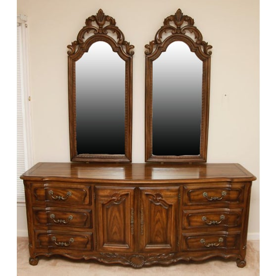 Century Furniture Double Mirror Dresser - Image 2 of 11