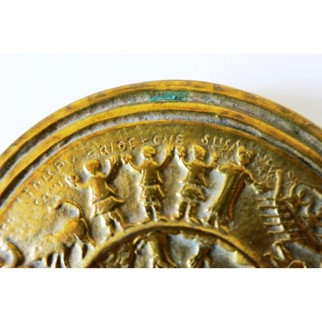 Line Vautrin French Sculptured Gilt Bronze Box by Line Vautrin For Sale - Image 4 of 9