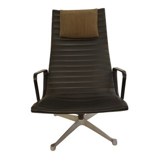 Eames Early Aluminum Group Lounge Chair For Sale