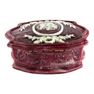 Vintage Incolay Studios Jewelry Box For Sale