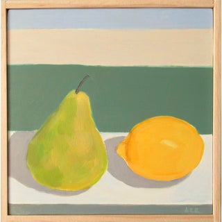 Pear With a Lemon by Anne Carrozza Remick For Sale