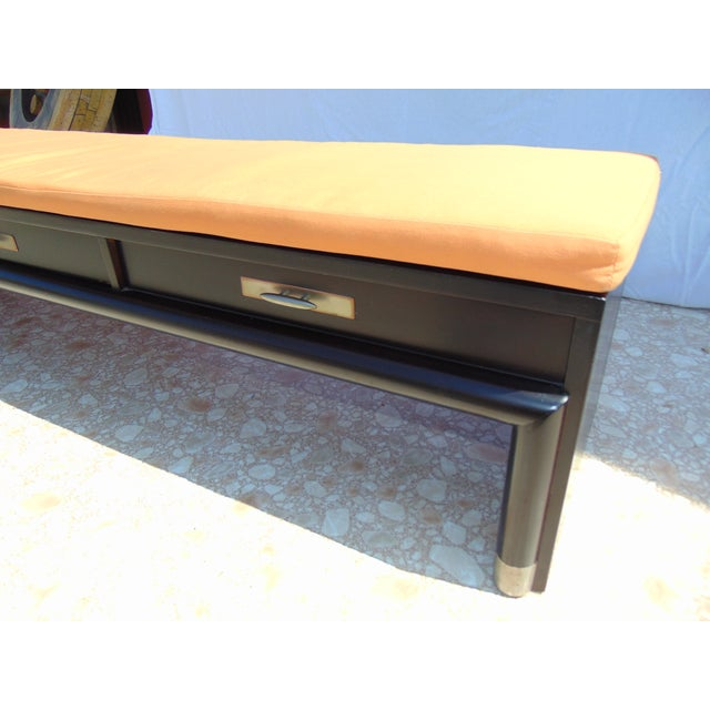 3-Drawer Coffee Table/Bench With Cushion - Image 10 of 11