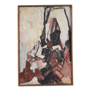 20th C. Danish Abstract Painting