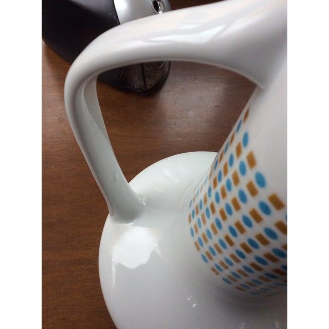 White Paul McCobb Coffee Pot Hopscotch Jackson Internationale For Sale - Image 8 of 12