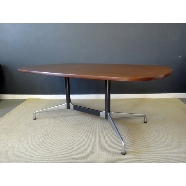 Eames for Herman Miller Large Oval Table - Image 2 of 7