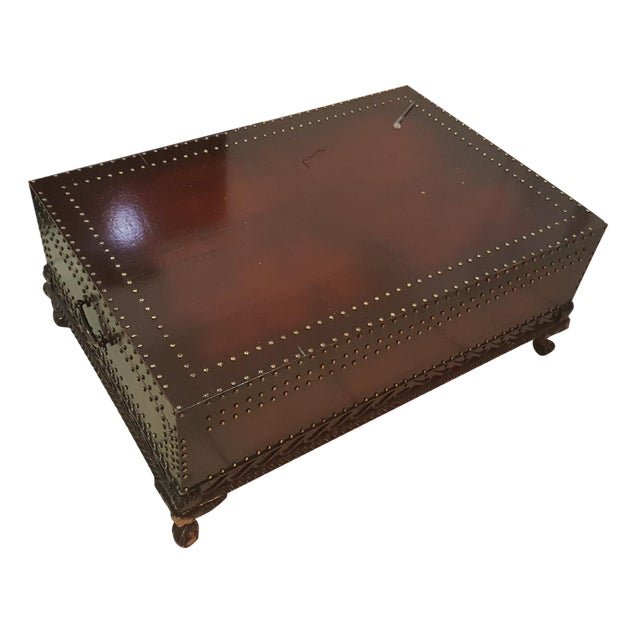 Ralph Lauren Trunk Coffee Table For Sale