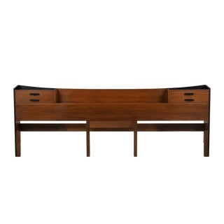 Mid Century Modern King Size Head Board For Sale