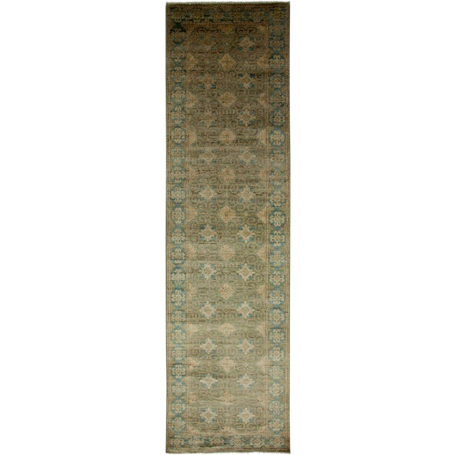 """Khotan, Hand Knotted Runner - 2'7"""" X 9'10"""" For Sale"""