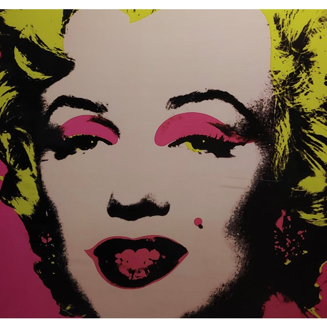 1970s Andy Warhol Marilyn Monroe-Beautiful Vintage Screenprint For Sale - Image 5 of 7