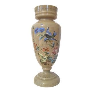 Antique Bristol Glass Vase For Sale