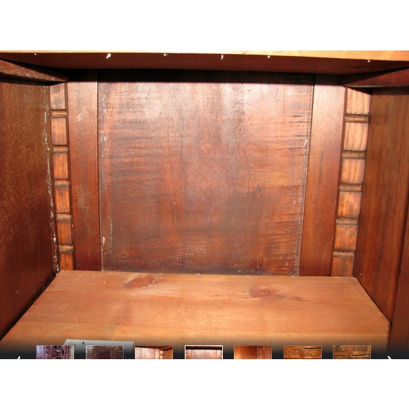 Antique Hand-Carved Italian Revival Armoire - Image 10 of 10
