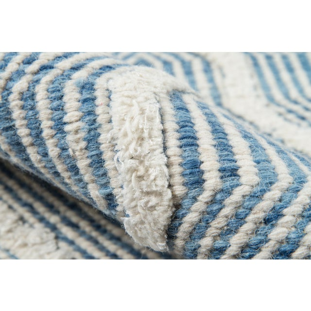 Erin Gates By Momeni Langdon Prince Blue Hand Woven Wool