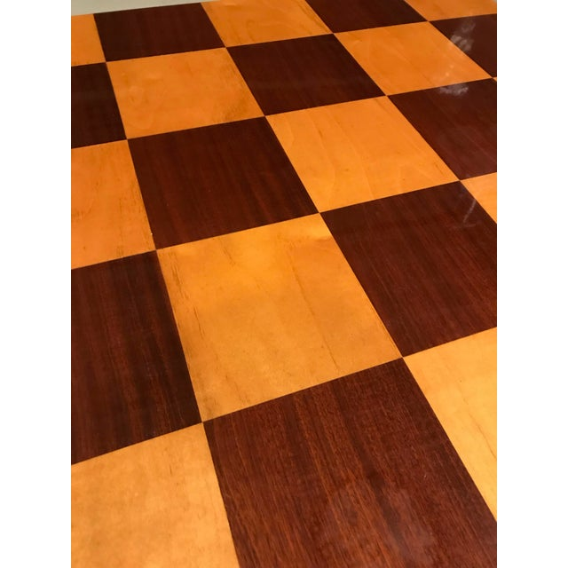 Early 20th Century 1940s French Art Deco Ebony Game Table or Centre Table For Sale - Image 5 of 11