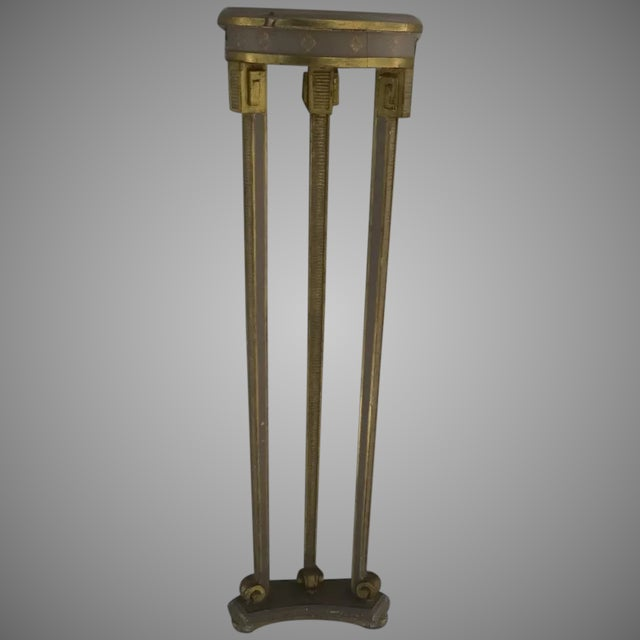 Narrow Demilune Table and Sconce For Sale - Image 9 of 9