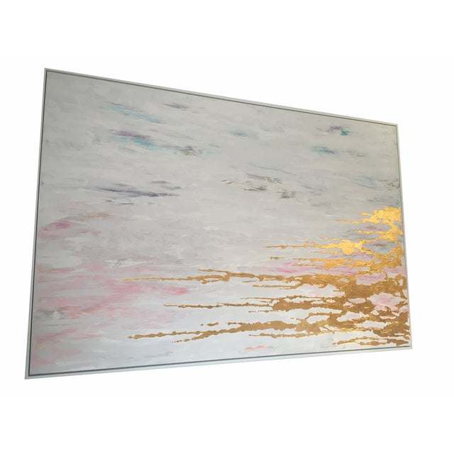 Metallic Commissioned Original Abstract Painting - Image 2 of 8