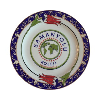 Samanyolu Koleji College Plate For Sale