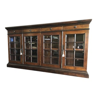 Traditional Theodore Alexander Mahogany Buffet For Sale