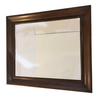 Vintage Mahogany Wood Frame For Sale