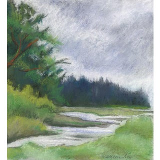 Kathleen Ney Original Landscape Pastel Painting For Sale