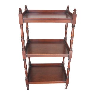 Early 19th Century English Mahogany William IV Etagere For Sale