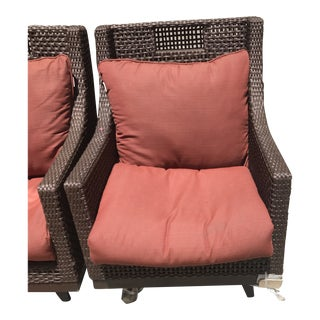 Summer Classics Spring Patio Lounge Chairs For Sale