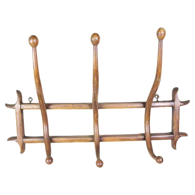 French Bentwood Coat Rack For Sale