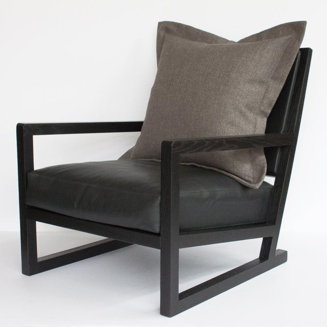 Mid-Century Modern B&B Italia Clio Lounge Chair For Sale - Image 3 of 11