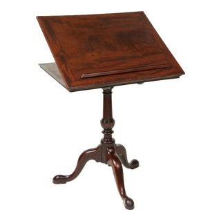 Mid 18th Century George III Mahogany Reading Stand For Sale