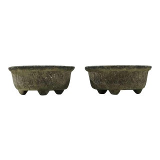 Pair 1950s French Outdoor Garden Pots For Sale